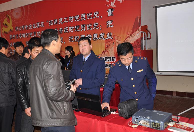 搭建服务对接平台 推进非公企业党建 2011年庆阳市春季大型人才招聘会